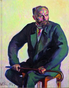 Nikolai Triik. Portrait of Ants Laikmaa.1913. Oil on canvas. 110 x 84.7 cm. Art Museum of Estonia