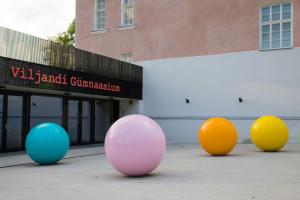 Merike Estna. Sphere. Viljandi Gymnasium