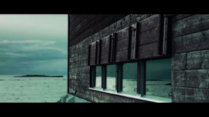 """Flow and Ebb (Tõus ja mõõn).  6'16"""". The film is about the  nominee of the 2012 Cultural  Endowment's architecture  award: Boatshed of  the Vilsandi Marine  Rescue Station. Director- screenwriter: Anna Hints"""